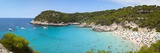Elevated View over the Idyllic Beach of Cala Mitjana