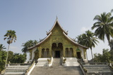 Wat Chum Khong  in the Royal Museum Complex  Luang Prabang  Laos