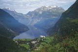 Norway  Western Fjords  Geiranger Fjord