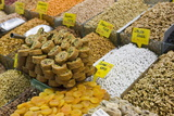 Baklava and Dried Fruit and Nuts for Sale  Spice Bazaar  Istanbul  Turkey  Western Asia