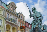 Statue of Neptune  Historic Old Town  Poznan  Poland  Europe