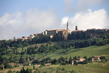 Hilltop Town of Pienza  UNESCO World Heritage Site  Val D'Orcia  Tuscany  Italy  Europe