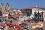 Bishop's Palace and City Cathedral  Porto  Portugal