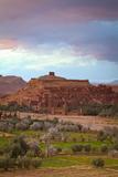 Ait Benhaddou  UNESCO World Heritage Site  Atlas Mountains  Morocco  North Africa  Africa