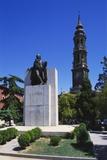 Francisco Goya Monument  Zaragoza  Aragon  Spain