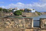 City Walls in Old San Juan  Puerto Rico  West Indies  Caribbean  Central America