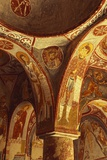 Detail from a Fresco in Elmali Church  Goreme  Cappadocia  Turkey