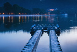 Kandy Lake and the Temple of the Sacred Tooth Relic (Sri Dalada Maligawa) at Night