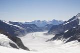 Aletsch Glacier  UNESCO World Heritage Site  Kleine Scheidegg