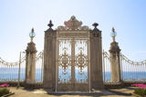 Gate to the Bosphorus  Dolmabahce Palace  Istanbul  Turkey  Europe
