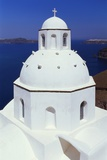 Orthodox Church  Thira  Santorini  Cyclades  Greece