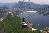 View over Botafogo and the Corcovado from the Sugar Loaf Mountain