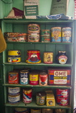 Old Food Conserves in the Port Lockroy Research Station  Antarctica  Polar Regions