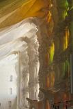 Sunlight Through Stained Glass  Sagrada Familia  Barcelona  Catalunya  Spain  Europe