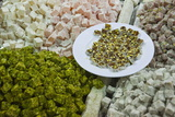 Traditional Turkish Delight for Sale  Spice Bazaar  Istanbul  Turkey  Western Asia
