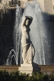 Nude Statue  Placa De Lesseps  Barcelona  Catalunya  Spain  Europe