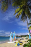 Reduit Beach  Rodney Bay  St Lucia  Caribbean