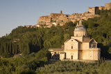 The Hilltop Village of Montepulciano  Tuscany  Italy  Europe