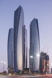 The Etihad Towers  Abu Dhabi  United Arab Emirates  Middle East