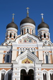 Facade of the Alexander Nevsky Church  Tallinn  Estonia  Europe