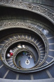 Spiral Staircase  Vatican Musuem  Rome  Italy
