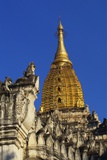 Golden Stupa of Ananda Pahto  Bagan  Myanmar  Indochina