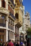 City Streets  Valencia  Spain  Europe