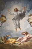 Raphael's Oil Painting of the Resurrection of Jesus Altar of the Transfiguration Altarpiece