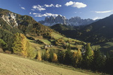 Italy  Cortina  Dolomites  View from over Rolling Landscape