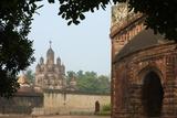 Kalna Temple Complex  Kaha  West Bengal  India  Asia
