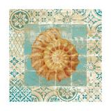 Shell Tiles I Blue