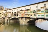 Ponte Vecchio  Florence  UNESCO World Heritage Site  Tuscany  Italy  Europe