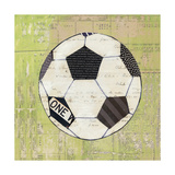 Play Ball III Giclée premium par Courtney Prahl