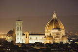 The Duomo and Campanile  UNESCO World Heritage Site  Florence  Tuscany  Italy  Europe