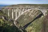Bloukrans Bridge  Site of Highest Bungy in World  216 M Tall