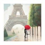 Paris Romance II Giclée premium par Marco Fabiano
