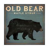 Old Bear Giclée premium par Ryan Fowler
