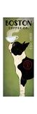 Boston Terrier Coffee Co Giclée premium par Ryan Fowler