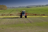 An Agricultural Machine Spraying Chemicals in Hertfordshire  England  United Kingdom  Europe