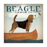 Beagle Canoe Co Giclée premium par Ryan Fowler