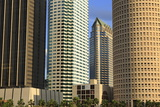 Downtown Skyscrapers  Tampa  Florida  United States of America  North America
