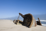 Ship Wreck  Skeleton Coast  Namibia  Africa