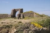 Grosnez Castle Ruin  St Ouen  Jersey  Channel Islands  United Kingdom  Europe