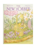 The New Yorker Cover - April 23  1984