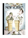 The New Yorker Cover - October 11  2004