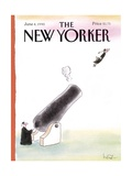 The New Yorker Cover - June 4  1990