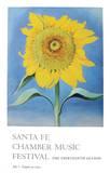 Sunflower 1985 Reproduction d'art par Georgia O'Keeffe