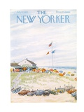 The New Yorker Cover - July 27  1957