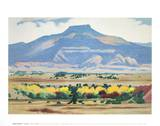 Pedernal 1941-42 Reproduction d'art par Georgia O'Keeffe