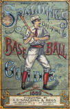 Spaulding's Baseball Guide Vintage Vintage Wood Sign